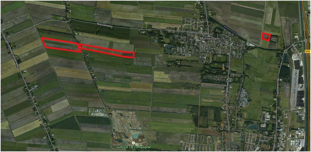 Topografische kaart Veerkamp
